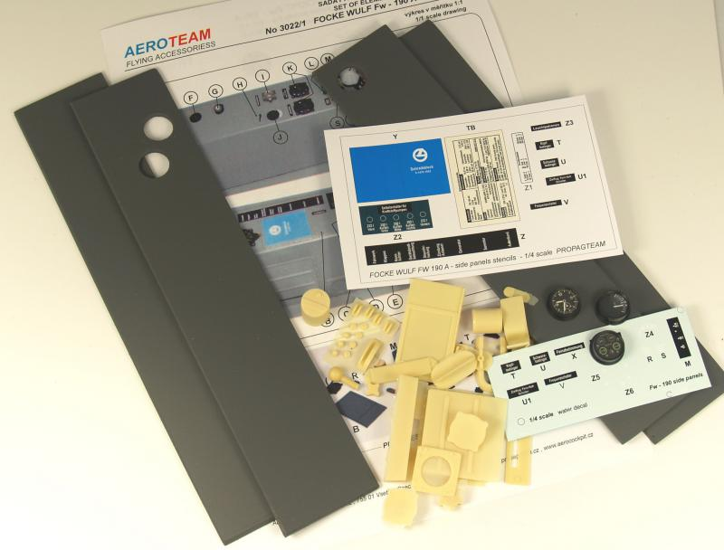 3022/5 Fw - 190 A side panels kit