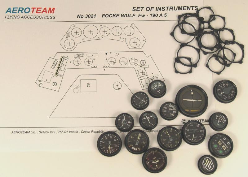 3124 Set of instruments Fw - 190 A