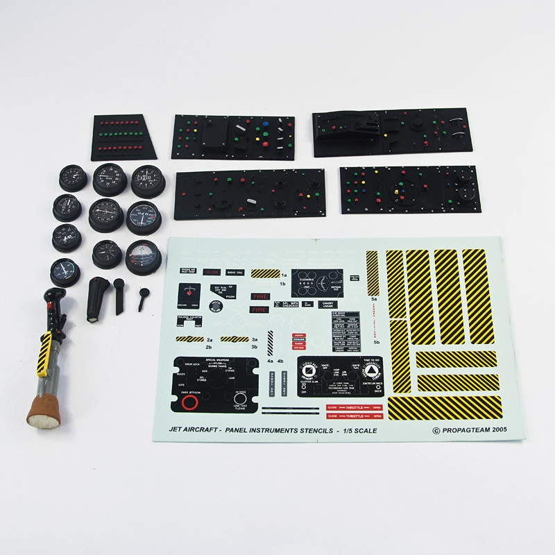 Accessories set for JET aircraft ,helicopters