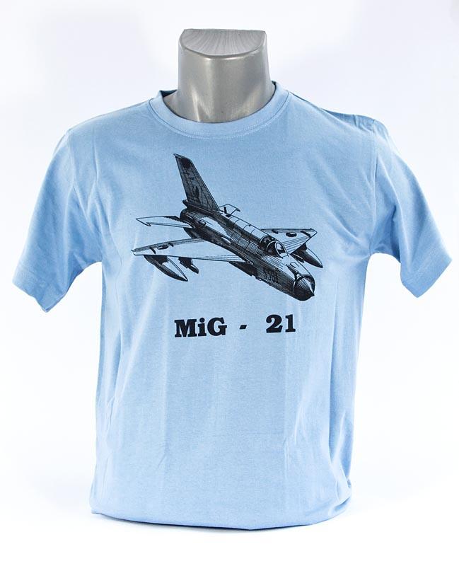 fba5b3bbcd6 MiG-21 T-shirt - AEROCOCKPIT