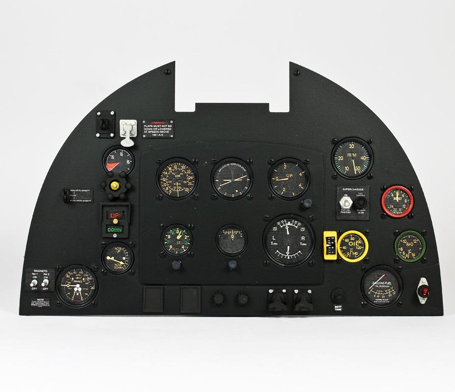 Supermarine Spitfire Mk Ix 3017 5 Aerocockpit